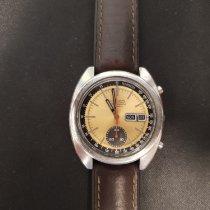 Seiko Kronograf 38mm Automatisk 1977 begagnad Guld