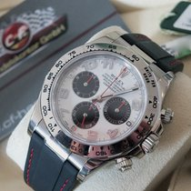 Rolex Daytona Witgoud 40mm Wit Arabisch
