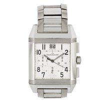 Jaeger-LeCoultre Reverso Squadra Chronograph GMT Steel 34mm Silver United States of America, New York, New York