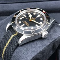 Tudor Black Bay Fifty-Eight Ocel 39mm Černá Bez čísel