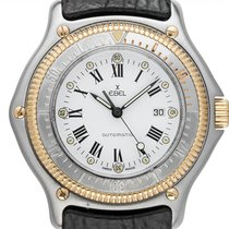 Ebel Discovery Gold/Steel 38mm White Roman numerals