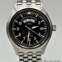 IWC Pilot Spitfire UTC Steel 39mm Black Arabic numerals United States of America, Texas, Houston