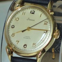 Stowa Yellow gold 33,5mm Manual winding pre-owned