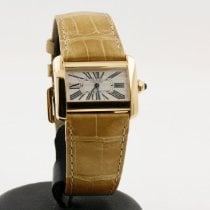 Cartier Tank Divan Yellow gold 26mm White Roman numerals