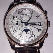 Longines Master Collection Rose gold 40mm Silver Arabic numerals