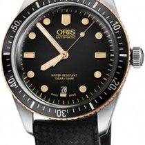 Oris 01 733 7707 4354-07 4 20 18 Divers Sixty Five new United States of America, New York, Brooklyn