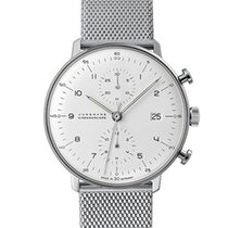 Junghans max bill Chronoscope 027/4003.48 2019 nouveau