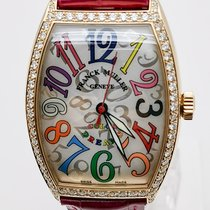 Franck Muller Rose gold Automatic Silver Arabic numerals 32mm new Color Dreams