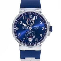 Ulysse Nardin Marine Chronometer Manufacture Сталь 43mm Синий