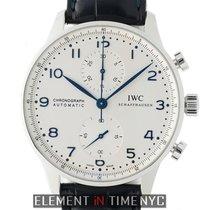 IWC Portuguese Chronograph nouveau Remontage automatique Chronographe Montre avec coffret d'origine et papiers d'origine IW3714-46