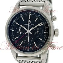Breitling Transocean Chronograph GMT, Black Dial, Limited...