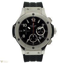 Hublot Big Bang Stainless Steel Rubber Chronograph Automatic...