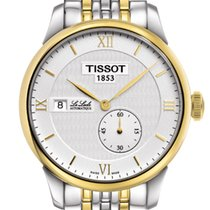 天梭 (Tissot) Le Locle Automatique Petite Seconde Silver Dial...