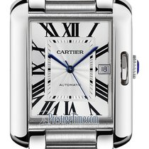 Cartier Tank Anglaise new Automatic Watch with original box