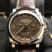 沛納海 PAM00656 LUMINOR 1950 EQUATION OF TIME 8 DAYS GMT TITANIO