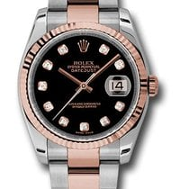 ロレックス (Rolex) 116231 Datejust Stainless Steel & Everose...