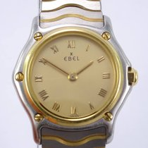 Ebel pre-owned Quartz 24mm Gold Sapphire Glass