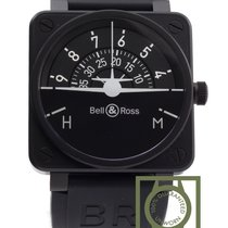 Bell & Ross Black BR 01 92 Turn Coordinator Horizon Limited...