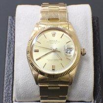 Rolex Date 1501 34mm 18k Yellow Gold 1965 Original Polish...