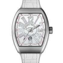 Franck Muller Steel Automatic 41mm new Vanguard