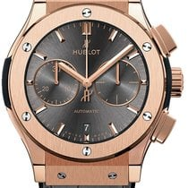Hublot Yellow gold Automatic new Classic Fusion Chronograph