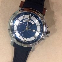 Breguet 39mm Automatic pre-owned Marine Blue