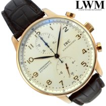 IWC Portuguese Chronograph IW371480 Very good Rose gold 41mm Automatic