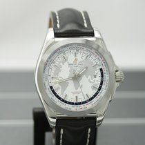 Breitling Steel Automatic White No numerals 44mm new Galactic Unitime