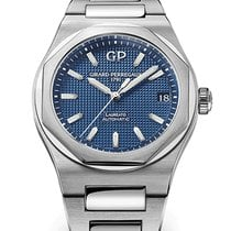 Girard Perregaux Laureato Steel 42mm Blue United States of America, New York, New York