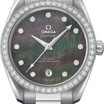 Omega Seamaster Aqua Terra Steel 38.5mm Mother of pearl United States of America, New York, Airmont