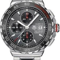 TAG Heuer Formula 1 Calibre 16 pre-owned 44mm Grey Chronograph Date