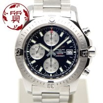 Breitling Colt Chronograph Automatic Steel 44mm Black No numerals