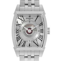 Perrelet new Automatic Display Back Guilloche Dial 40mm Steel Sapphire crystal
