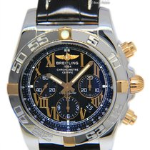 Breitling Chronomat 44 pre-owned 44mm Black Chronograph Date Leather