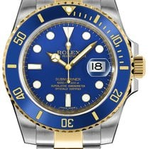 Rolex Submariner Date 116613LB Very good Gold/Steel 40mm Automatic United States of America, New York, New York