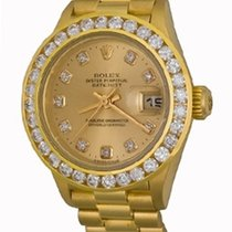 Rolex Lady-Datejust Yellow gold 25mm Champagne No numerals United States of America, Texas, Dallas