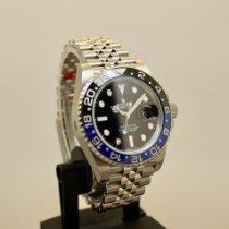 Rolex GMT-Master II Staal 40mm Zwart Geen cijfers Nederland, Velp