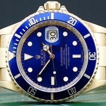 Rolex 16618 Or jaune 2001 Submariner Date 40mm occasion