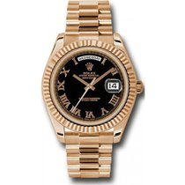 Rolex Day-Date II Rose gold 41mm Black Roman numerals United States of America, Florida, Miami