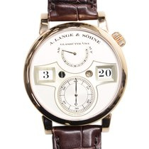 A. Lange & Söhne A Owl Series 18k Rose Gold Silver Manual...