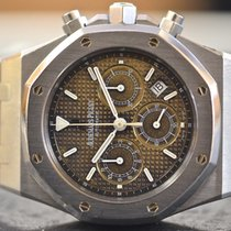 Audemars Piguet Royal Oak Chronograph Brown Dial in Steel