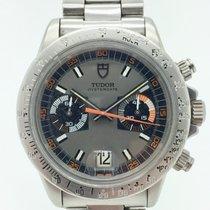 Tudor Montecarlo Steel 40mm Grey No numerals
