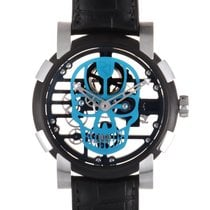 Romain Jerome Moon-DNA CYAN SKULL RJ.M.AU.030.16 new