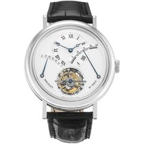 Breguet Platinum Manual winding Silver Roman numerals 39mm new Classique Complications