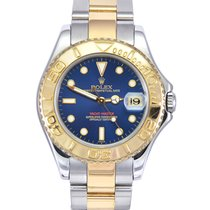 Rolex Yacht-Master Gold/Steel 35mm Blue No numerals United Kingdom, Manchester