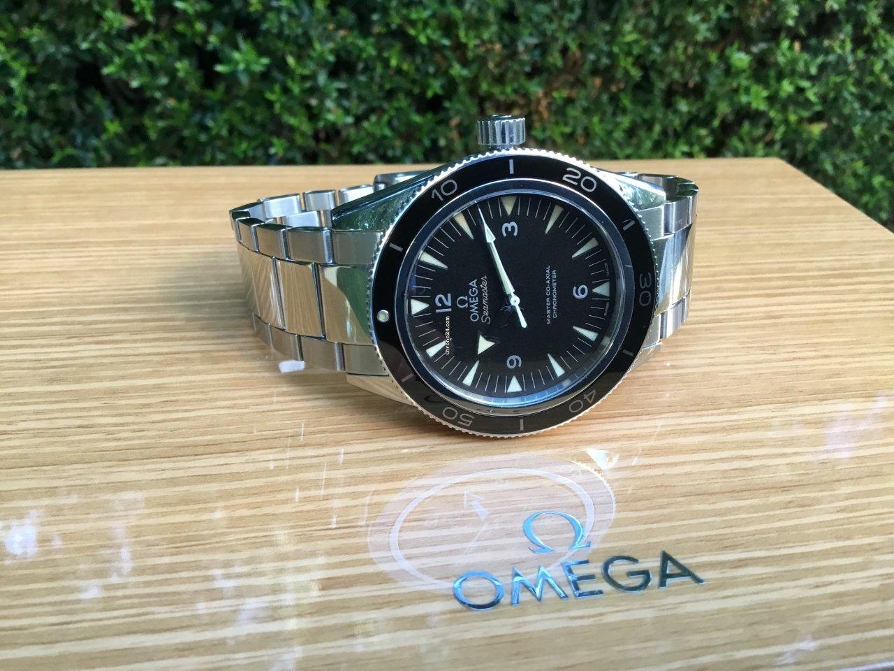 Használt Omega Seamaster 300 órák  117fc6f38a