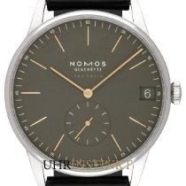 NOMOS Orion Neomatik Steel 40,5mm Brown