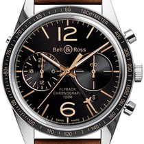 Bell & Ross BR V1 BR-126-FLYBACK-GMT new
