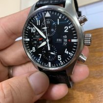 IWC IW377701 Steel 2015 Pilot Chronograph 43mm pre-owned United States of America, Texas, Houston