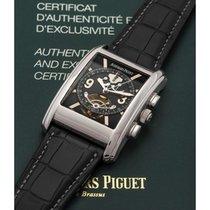 Audemars Piguet Edward Piguet Platin 54mm Schwarz Arabisch